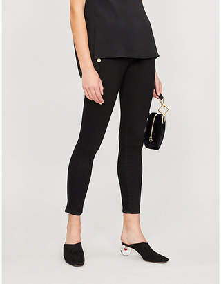 J Brand Zion cropped mid-rise skinny jeans