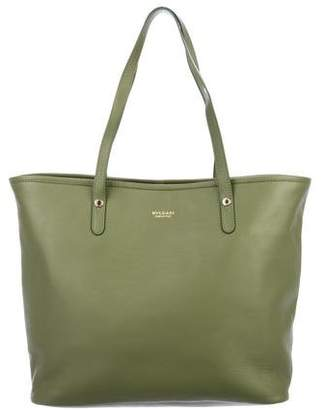 Bvlgari Smooth Leather Tote