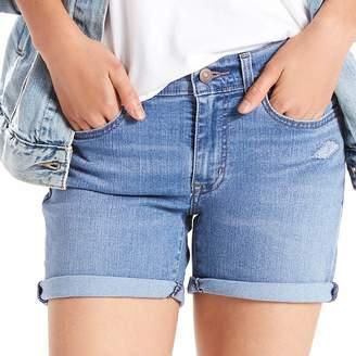Levi's Levis Women's Cuffed Mid-Length Shorts