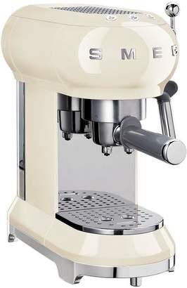 Smeg ECF01 Espresso Coffee Machine - Cream
