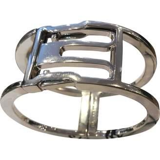 Balenciaga Silver Steel Bracelet