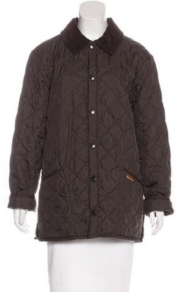 Barbour Quilted Oversize Jacket $130 thestylecure.com
