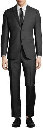 Lanvin Men's Two-Piece Wool Micro Tile Suit