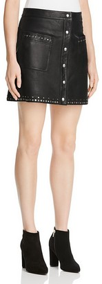 Rebecca Minkoff Leather Rockin' Skirt - 100% Exclusive $398 thestylecure.com