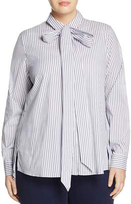 Marina Rinaldi Baldo Striped Shirt