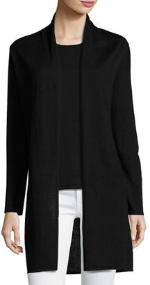Neiman Marcus Cashmere Collection Superfine Cashmere Open Cardigan $325 thestylecure.com
