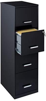"""Office Dimensions 18"""" 4 Drawer Metal File Cabinet"""