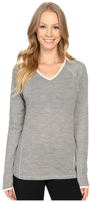 Smartwool - NTS Micro 150 Pattern Hoodie Women's Long Sleeve Pullover $100 thestylecure.com