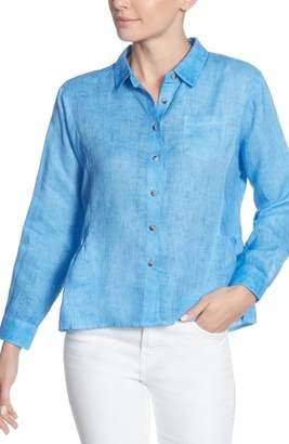 Catherine Malandrino Merle Linen Shirt