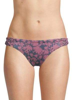 Dolce Vita Macrame Side Low-Rise Bikini Bottom