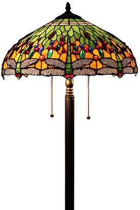 Tiffany & Co. AMORA Amora Lighting AM1028FL18 Style DragonflyTable Lamp 18 Inches