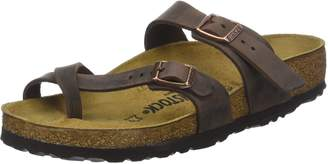 Birkenstock Women's Mayari Adjustable Toe Loop Cork Footbed Sandal 37 M EU