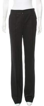 Luciano Barbera Wool Mid-Rise Pants w/ Tags