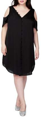 Rachel Roy Cold Shoulder Shift Dress