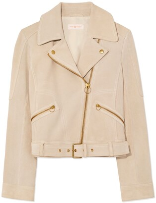 Tory Burch BIANCA SUEDE JACKET