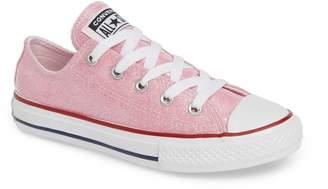 Converse R) Seasonal Glitter OX Low Top Sneaker
