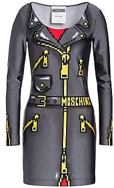 Moschino Women's x Sims Pixel Capsule Lycra Dress