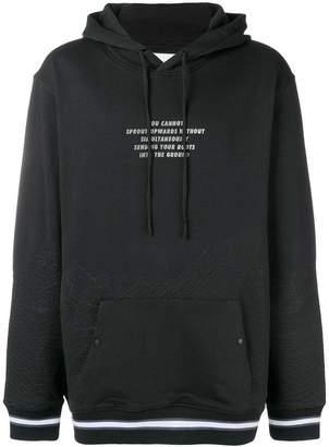 Les Benjamins Tammai printed hoodie