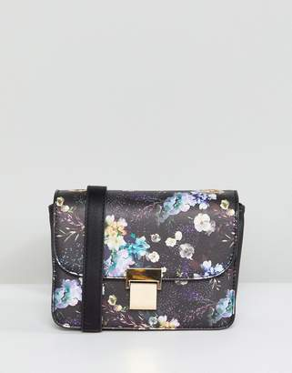 Oasis Floral Print Crossbody Bag
