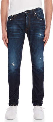 Love Moschino Distressed Slim Fit Jeans