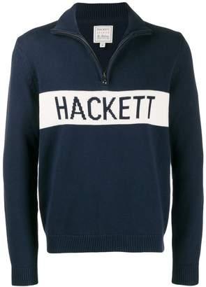 Hackett Archive intarsia knit sweater