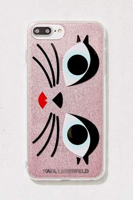 Urban Outfitters Karl Lagerfeld Glam Choupette iPhone 8/7/6 Plus Case
