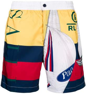Polo Ralph Lauren US Sailing swim shorts