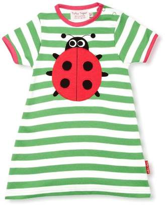 Ladybird Toby Tiger Patterned Girl's Dress 6-12 Months