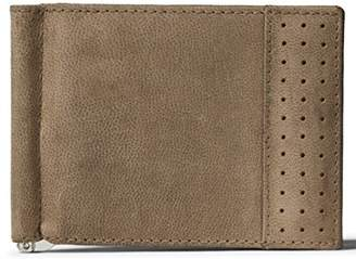 LEATHER ARCHITECT-Men's 100% Leather Bifold RFID wallet with money clip-