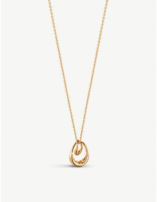 Georg Jensen Offspring 18ct rose-gold pendant