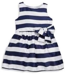 Little Girl's Tara Striped Sleeveless Dress