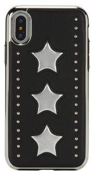 Rebecca Minkoff Leather Star Inlay Case For iPhone XS & iPhone X