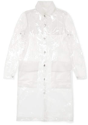 Rains Glossed-tpu Raincoat - Clear