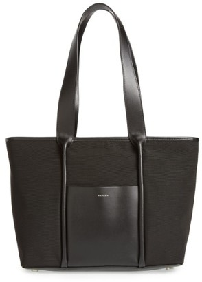 Skagen Lisabet Coated Twill Tote - Black $165 thestylecure.com