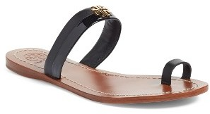 Women's Tory Burch Jolie Toe Ring Sandal $195 thestylecure.com