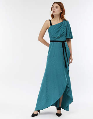 Monsoon Cleo Star Jacquard Maxi Dress
