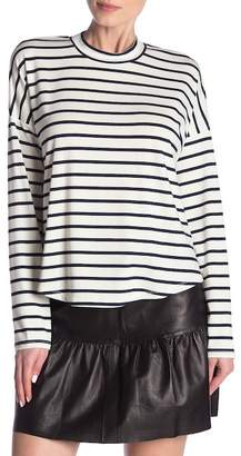Madewell Sandwashed Long Sleeve Striped Top