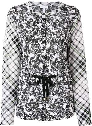 Escada Sport printed longsleeved blouse