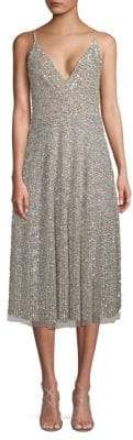 Valentino Sequin Midi Dress