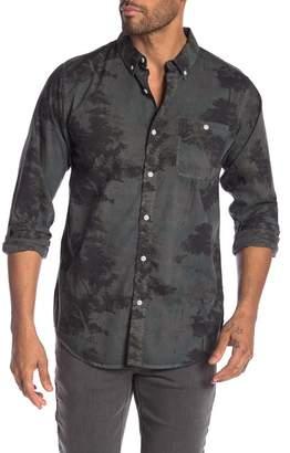 Ezekiel Woodz Patterned Long Sleeve Regular Fit Shirt