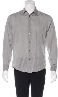 John Varvatos Woven Button-Up Shirt