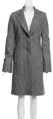 Kaufman Franco Kaufmanfranco Wool Long Coat