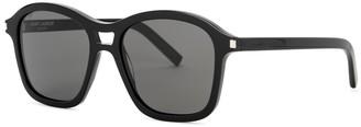 Black Square-frame Sunglasses