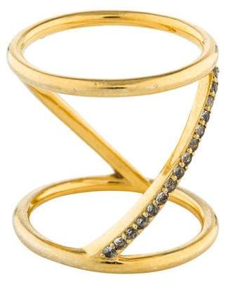 Elizabeth and James Topaz Velde Ring