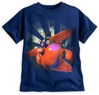Disney Store Big Hero 6 Baymax Mech & Hiro Tee T-shirt
