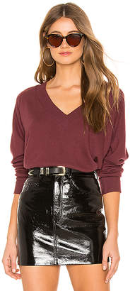 LnA Brushed Moby V Neck Sweater