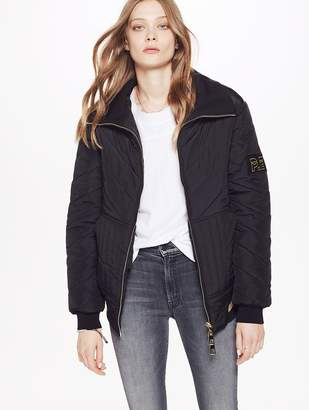 P.E Nation Roll On Quilted Jacket - Black