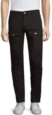 Versus By Versace D-Patch Skinny Cargo Pants