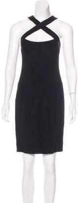Narciso Rodriguez Cutout Knee-Length Dress
