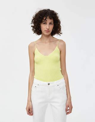 Stelen Ciara Knit Tank in Neon Lime